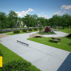 Old Town Park_Skate Plaza