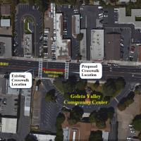 Crosswalk at GVCC
